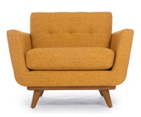 ща сяду в негоModern Furniture, Mid Century Modern, Chairs 849, Studios Couch, Blog Inspiration, Midcentury, Living Room Furniture, Nixon Chairs, Thrive Furniture