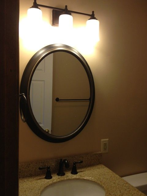 bronze bathroom mirrors 1000 ideas about oval bathroom mirror on 12179