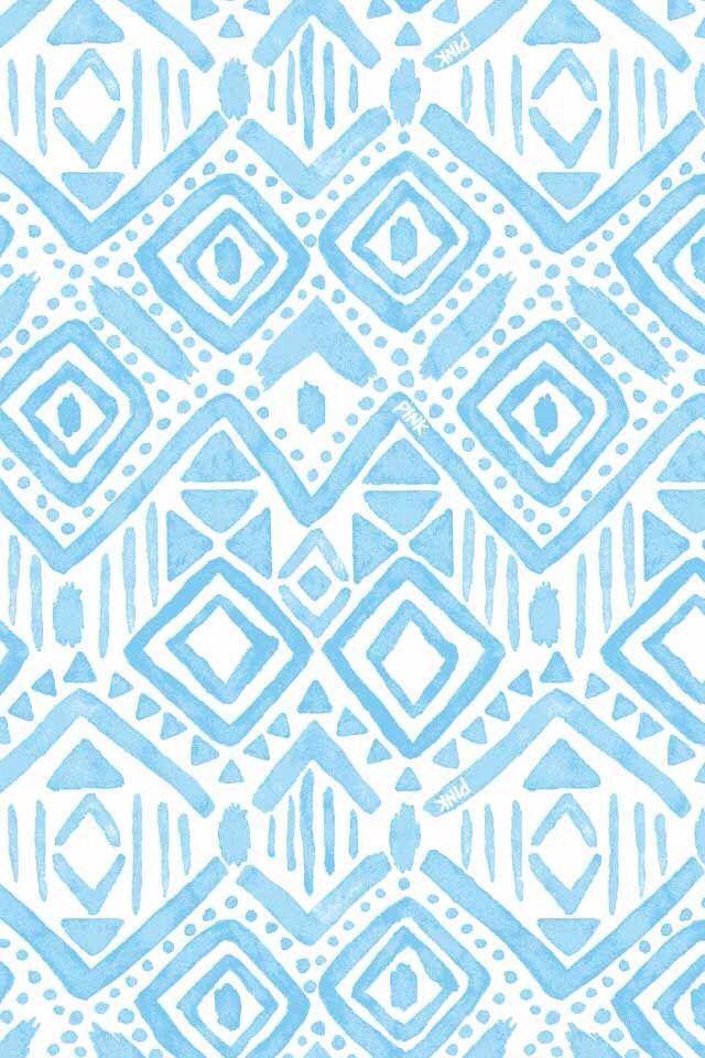 Blue Tribal Print Background | fashionplaceface.com