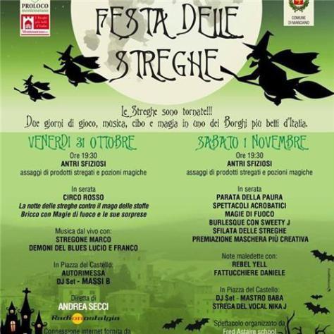 Festa delle streghe a #Montemerano 31/10 - 1/11 2014 #halloween #eventi #maremma