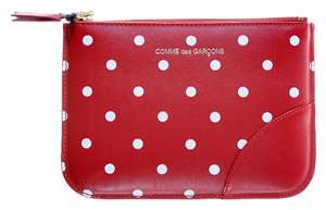 Comme des Garcons polka dot leather coin purse. At $260, I'll just drool.