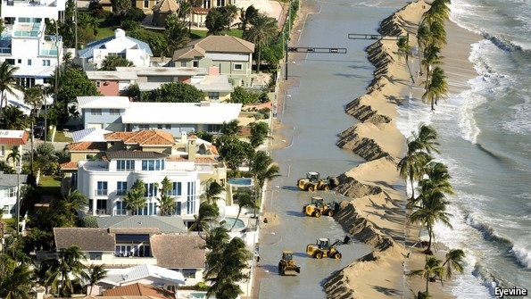 Coastal cities and climate change: You're going to get wet. Americans are building beachfront homes even as the oceans rise
