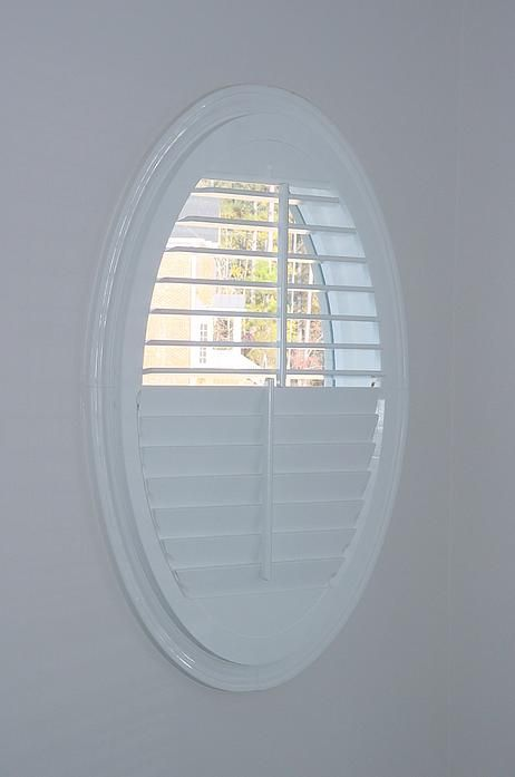 17 best images about specialty shapes on pinterest for Oval window treatment ideas