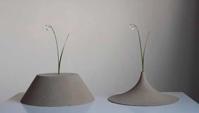 Sand Vases by Yukihiro Kaneuchi