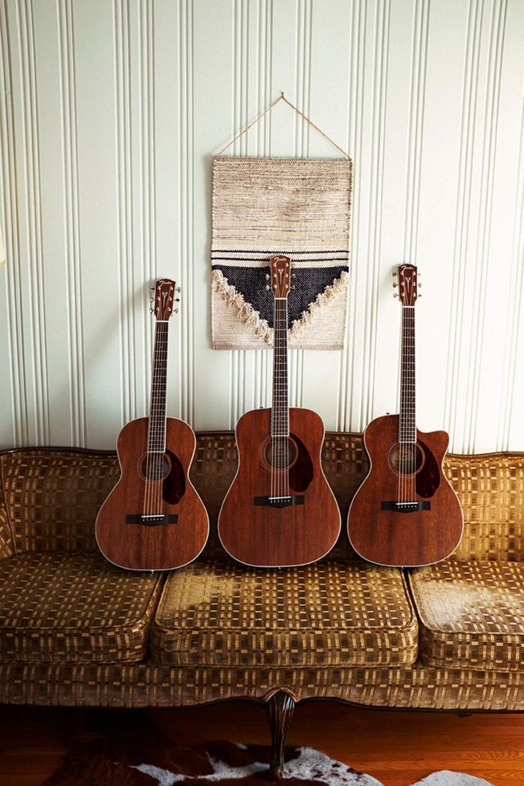 Can't get enough of these Fender Paramount Series All-Mahogany acoustic guitars!