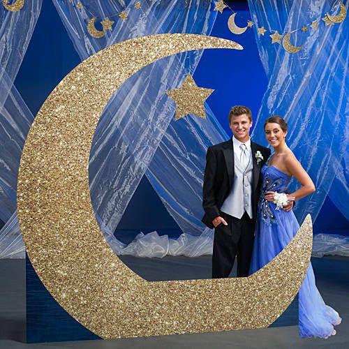 To The Moon And Back Crescent Moon Photo Prop Homecoming