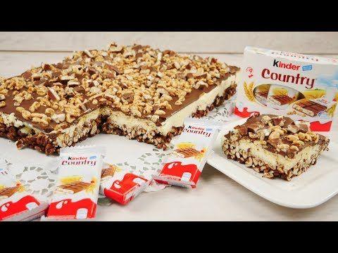 Rezept: Kinder Country Kuchen ohne Backen | Kinder…