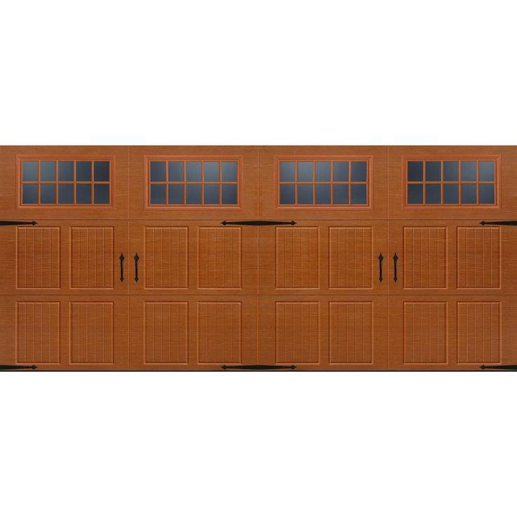 Double Garage Doors With Windows 7 best garage door images on pinterest | carriage house, double