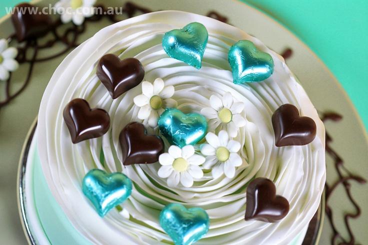Wedding cake decorations made easy with Chocolate  www.choc.com.au