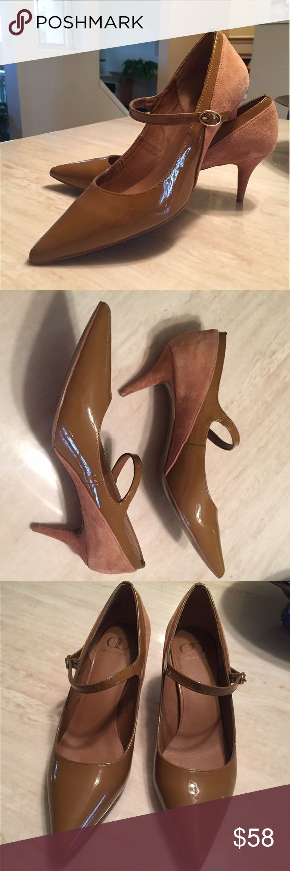 """Like New Kelsi Dagger patent & Suede Pumps Sz 9 Gorgeous Pair of """"Like New"""" Kelsi Dagger Brown Suede & Patent Leather Pumps in a Size 9. These shoes have a 3"""" heel and are super comfortable. Worn once and purchased at Saks. Kelsi Dagger Shoes Heels"""