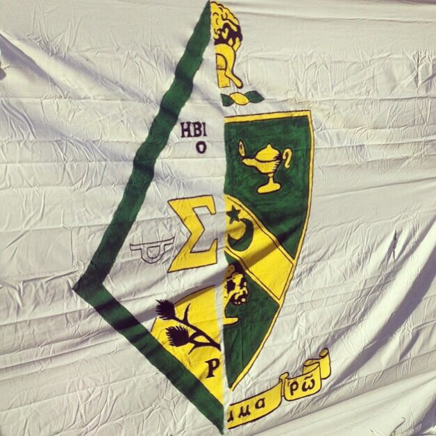 Sigma Alpha - Alpha Gamma Rho ---- would be cool to do this with Farmhouse's crest this year for Homecoming!!!