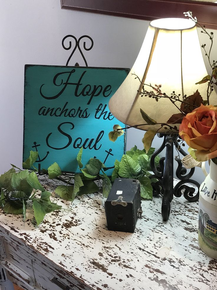 Excited to share the latest addition to my #etsy shop: Hope anchors the soul