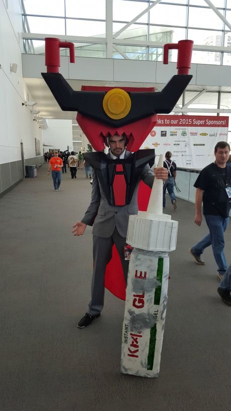 President Business at Denver Comic Con 2015