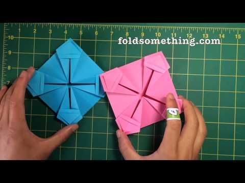 130 best patchwork origami images on pinterest fabric origami modular paper basket thecheapjerseys Gallery