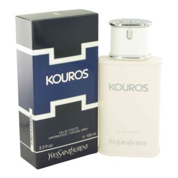 Kouros Cologne by Yves Saint Laurent, 100 ml Eau De Toilette Spray for Men -  Kouros Cologne by Yves Saint Laurent 3.4 oz Eau De Toilette Spray for MenLaunched By The Design House Of Yves Saint Laurent In 1981, Kouros Is Classified As A Luxurious, Spicy, Lavender, Amber Fragrance. This Masculine Scent Possesses A Blend Of Grass, Cloves, Jasmine, Rose And Coriander....