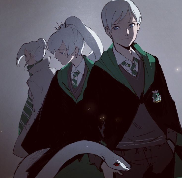 RWBY: RWBY x Harry Potter (The Schnee Siblings)