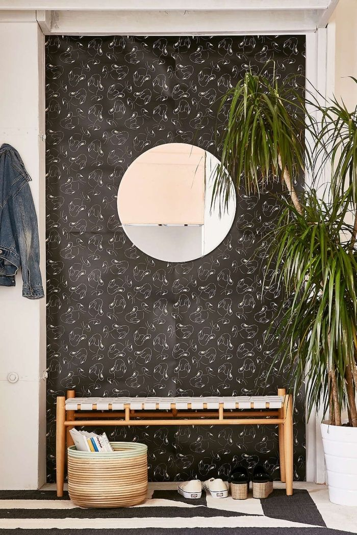 ▷ 1001 + idées déco pour transformer son intérieur avec un lé de - deco entree de maison