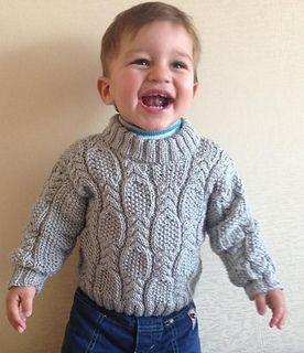 Free Pattern: Cable & Seed Stitch Sweater by Nelya Koval