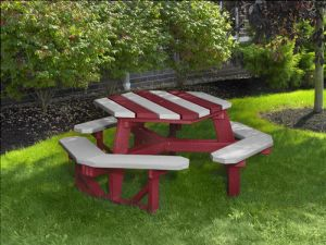 Looking for commercial picnic tables? At Taylor & Associates Inc, you can get octagon picnic tables and benches at reasonable rates. For more information, contact: taylorincorporated.com