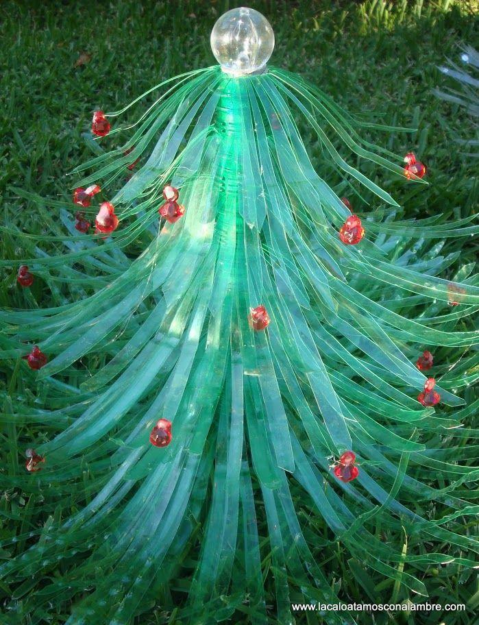 Mejores 62 im genes de navidad christmas en pinterest - Arbol de navidad de alambre ...