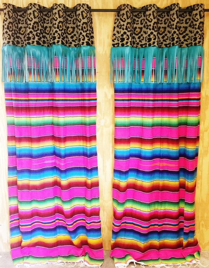 *NEW* Fiesta Fringe Curtain Panel