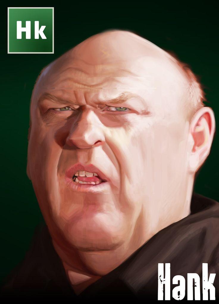 Breaking Bad Caricature - Hank Schrader by ~Sycra on deviantART