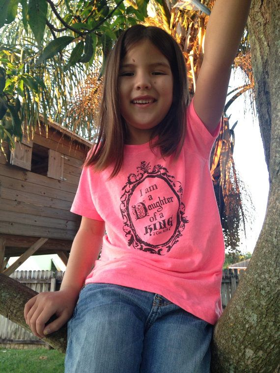 Pre order Daughter of a King Neon American Apparel by pattybelem