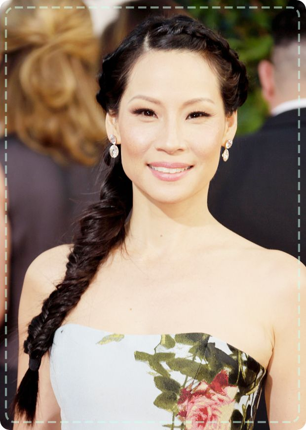 Bridal Hairstyles: Take inspiration from Lucy Liu's intricate braid