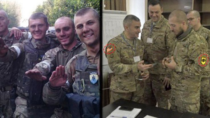 The US is Arming and Assisting Neo-Nazis in Ukraine, While Congress Debates Prohibition  Known as a bastion of neo-Nazism, the Azov Battalion has received teams of American military advisors and high powered US-made weapons