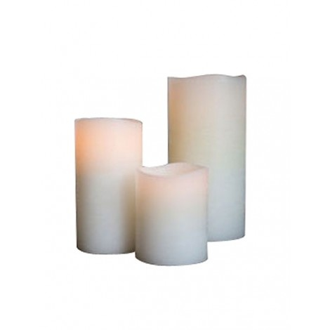 Candles safe for the dorm!  Vanilla candles that won't set your room on fire. Lighting Flameless Ivory CandleMovie Night