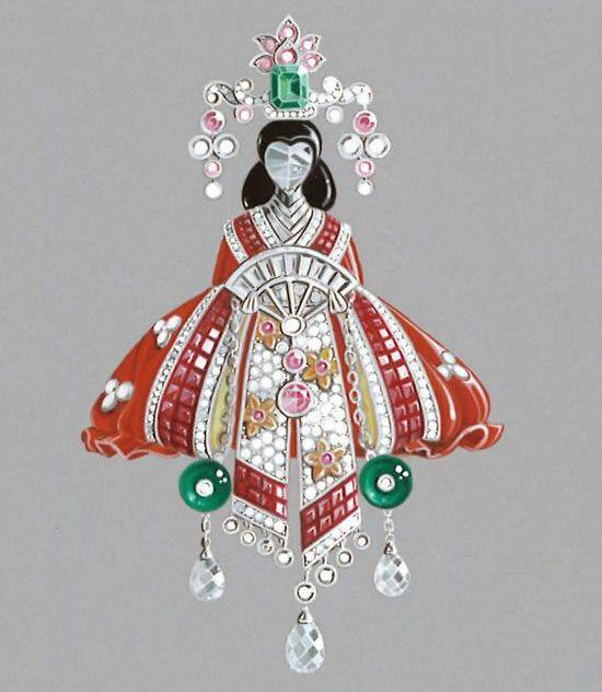 Van Cleef And Arpels Jewelry | Van Cleef & Arpels – Palais de la Chance Jewelry Collection » Van ...