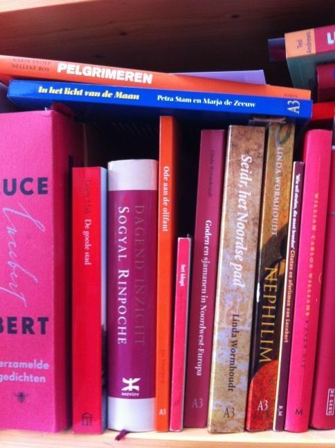 In de boekenkast van Nelleke Bos