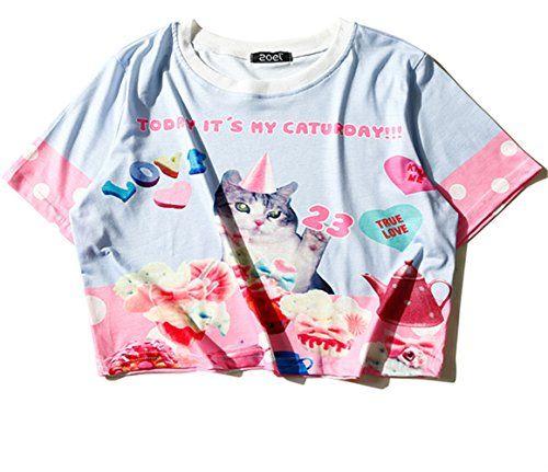 (シーファニー)Cfanny レディース Tシャツ ショット丈 チェック 半袖 プリント T3655 紫 Cfanny https://www.amazon.co.jp/dp/B06XDL1G4K/ref=cm_sw_r_pi_dp_x_LUj3ybHD9D8T6