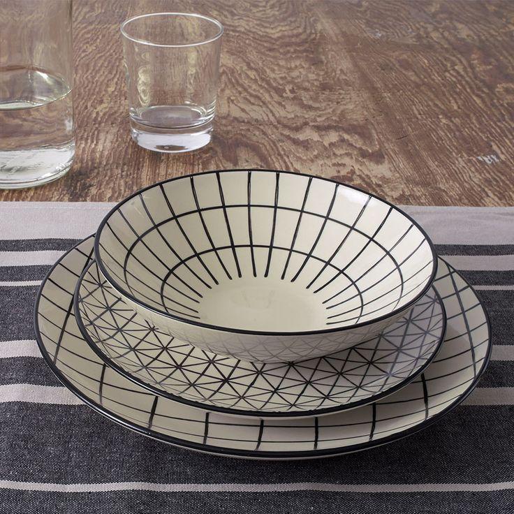 Kunstvolles Keramik-Geschirr von Fill