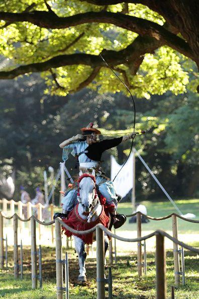 Horseback Archery In Japan