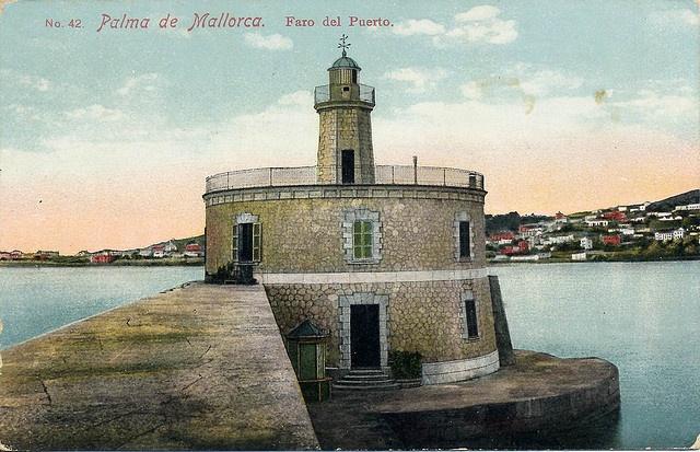 Faro del puerto palma de mallorca baleares espa a faros pinterest photos and spain - Puerto de palma de mallorca ...
