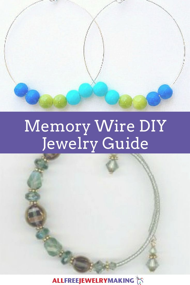 How to Work With Memory Wire When Making DIY Jewelry | Memory wire can seem intimidating and tricky, but these tips and tricks will really help you become a memory wire master!