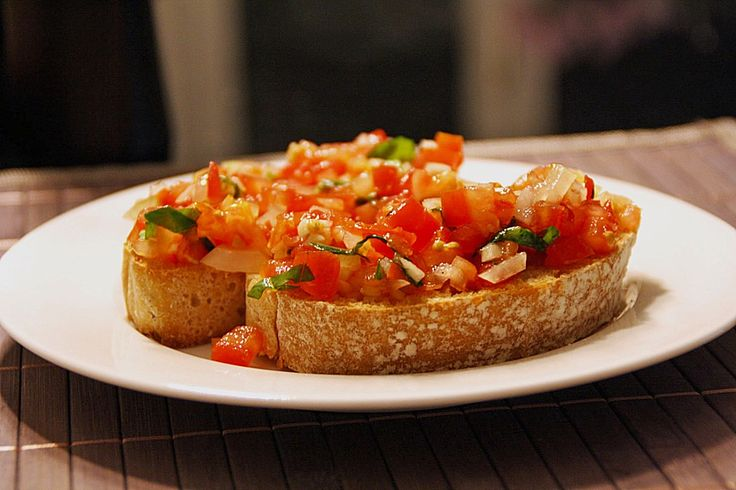 Bruschetta italiana - Chef Koch.DE. I have translated this from German to English.