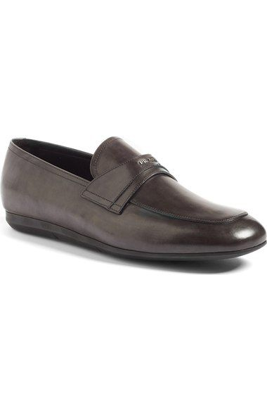PRADA Loafer (Men). #prada #shoes #flats