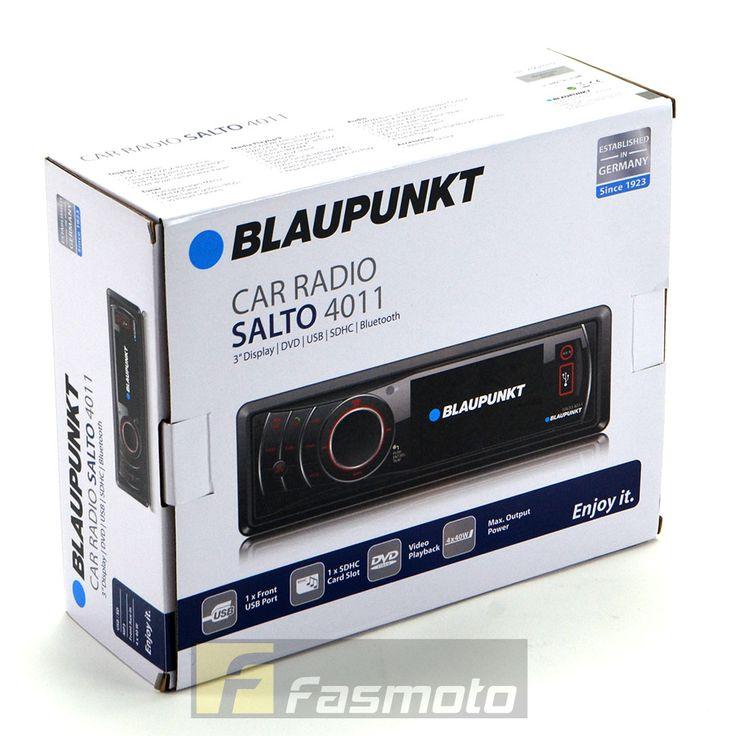 Blaupunkt Salto 4011 3 inch Screen Bluetooth Single DIN DVD USB SDHC Car Stereo