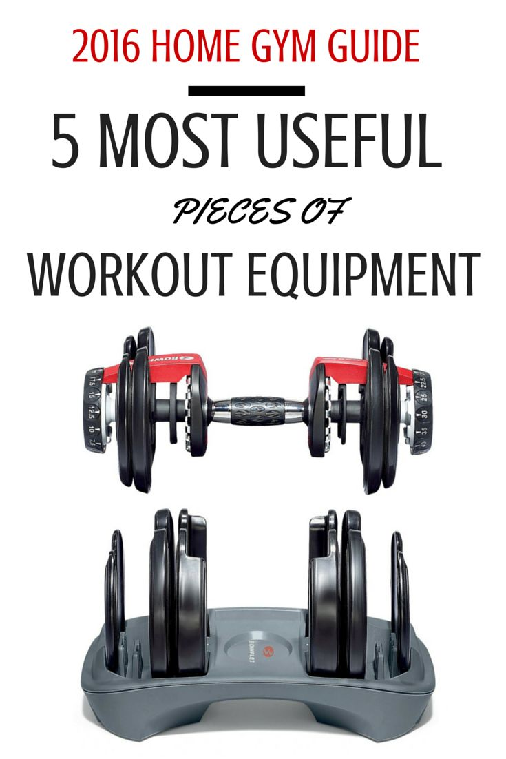 5 Most Useful Pieces of Workout Equipment - 2016 Home Gym Guide http://fitnesswithmichael.com/home-workout-equipment-2016/