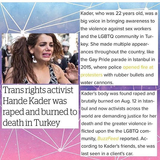 Rest in peace Hande Kader. Thank you so much for everything that you've done for so many people.