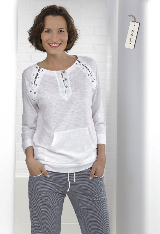 Conjunto mujer 2 piezas en algodón 100%  #homewear #massana