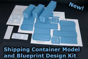 Shipping Container Model Design Kit