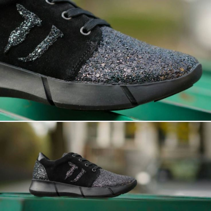 #obuwie #buty #shoes #sneakers #sneakershouts #sneakersholics #black #shiny #glitter #trussardi #trussardijeans #black #natural #leather #photography #style #fashion #lovethisshoeas #lifestyle #casual #womanshoes #woman #womanwear #cliffsport