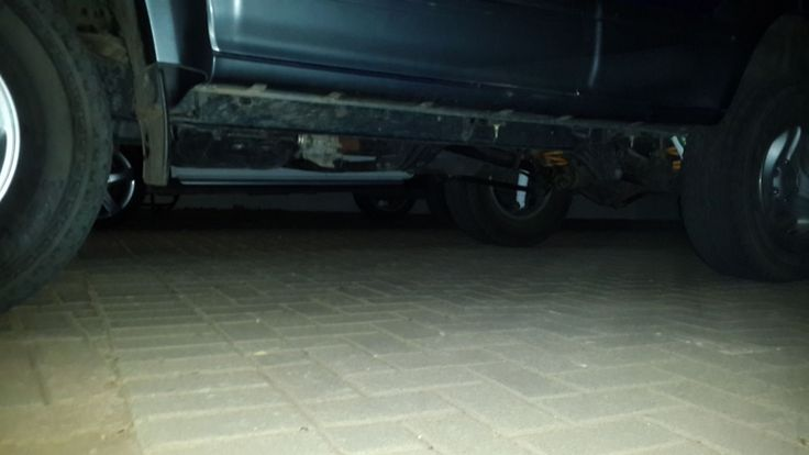 Ironman suspension installed 29/09/2014 Nice ground clearance now