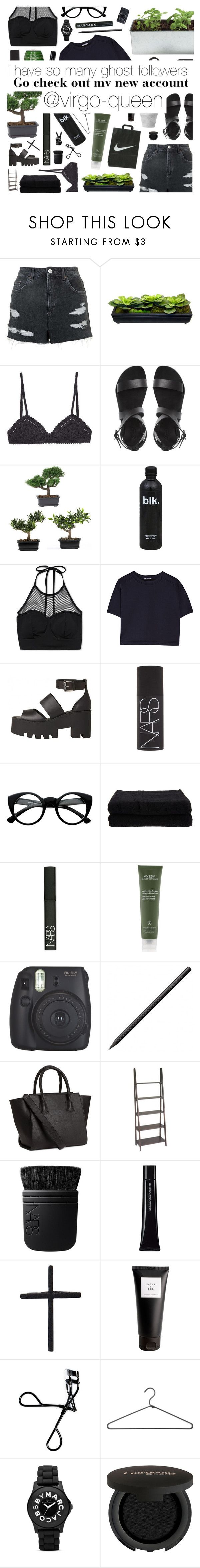 """""""I have a new Account!!"""" by sarahkatewest ❤ liked on Polyvore featuring Topshop, SHE MADE ME, Nearly Natural, Forever 21, T By Alexander Wang, Windsor Smith, NARS Cosmetics, Retrò, Home Source International and Aveda"""