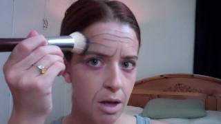 For 100 days of pre-k!!!!!!!!!!  Old Man Make Up Tutorial! *using what you have*, via YouTube.