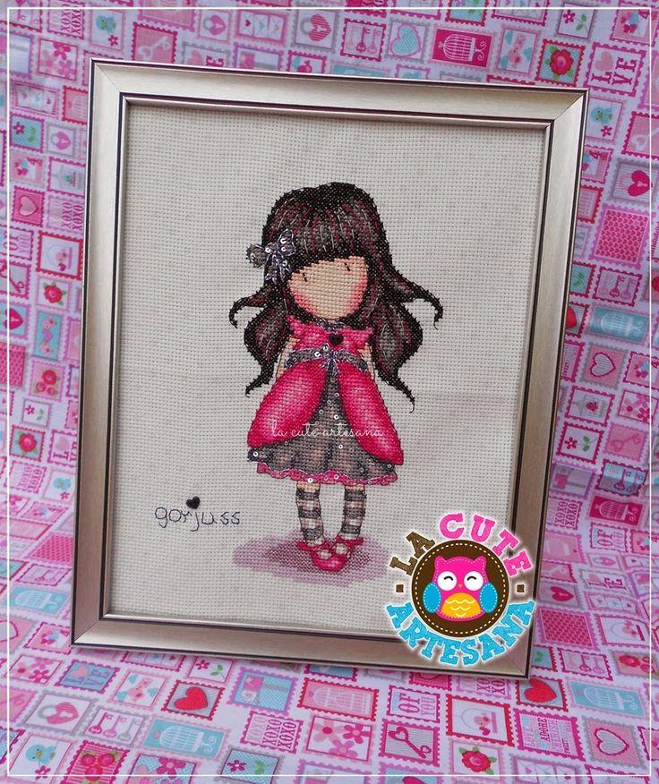 La Cute                                                                 Artesana: Gorjuss Ladybird cross stitch