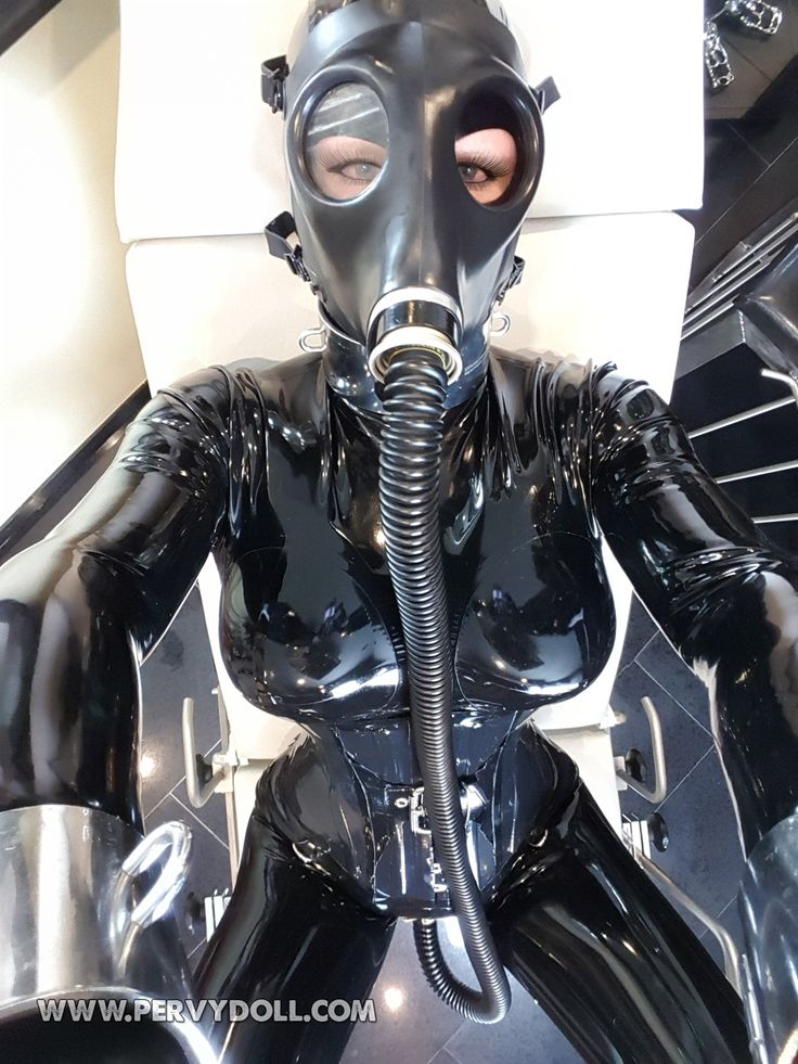 Fetish Rubber Slave Costume
